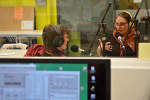 Egle Vertelyte, réalisatrice du film lituanien en compétition MIRACLE, interviewée par Sylviane et Maya