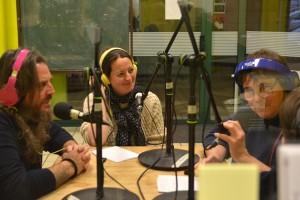 Mirko Frezza, comédien du film italien en compétition IL PIU GRANDE SOGNO, interviewé par Frédérique, avec Sabrina à la traduction