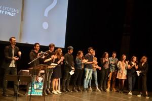 Le jury lycéen, présidé par le réalisateur Fred Nicolas