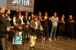 Prix spécial du jury : THE GIANT, représenté par son comédien Christian Andren