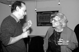 Un membre du jury et Liette Pregnard (équipe festival)