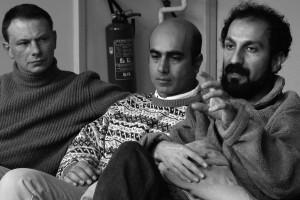 Jacek Gawryszczak (EDI) et Asghar Farhadi (DANCING IN THE DUST)