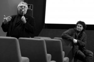 Michel Alexandre (scénariste LE COUSIN) et Bernard Jeanjean (réalisateur J'ME SENS PAS BELLE)