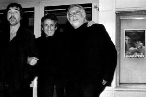 Olivier Marchal (réalisateur GANGSTERS), Richard Anconina, Michel Alexandre (réalisateur LE COUSIN)