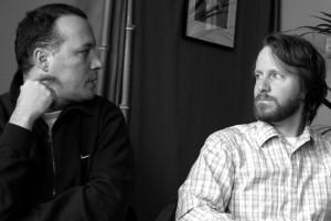 Roland Vranik (BLACK BRUSH) et Kyle Henry (ROOM)