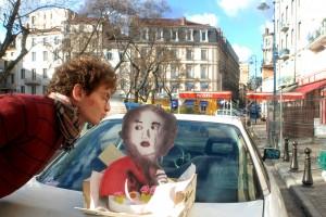 Un gâteau à l'effigie de l'affiche !
