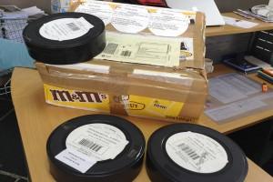 Les premiers films arrivent au format DCP et aux emballages gourmands !