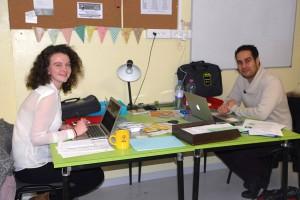 Katy et Rémi viennent renforcer l'équipe du Festival