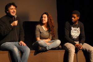 Samedi 6 février, séance Ciné mix't : HARAMISTE représenté par son réalisateur Antoine Desrosières et sa comédienne Souad Arsane, GUY MOQUET représenté par son comédien Teddy Lukunku