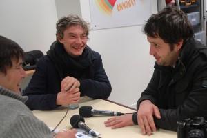 Mediapop : Karim Leklou et Swan Arlaud au micro de Radio d'ici