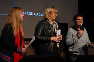 """Mardi 9 février, journée Collège au Cinéma : """"leçon de cinéma"""" au Théâtre..."""