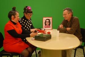 Mediapop : Patrice Leconte sur le plateau Tela avec Garance et Laberlue