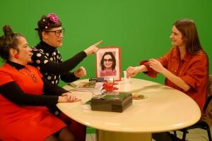 Mediapop : Aurore Broutin sur le plateau Tela avec Garance et Laberlue