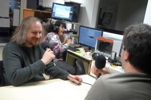 Mediapop : Xavier Seron au micro de Radio d'ici