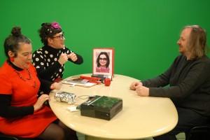Mediapop : Xavier Seron sur le plateau Tela avec Garance et Laberlue