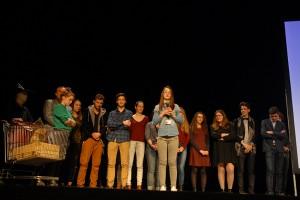 Dimanche 14 février, cérémonie de remise des prix au Théâtre : les lycéens font signalent une mention spéciale aux films JE ME TUE À LE DIRE et PIKADERO