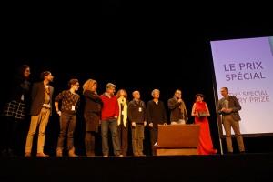 Dimanche 14 février, cérémonie de remise des prix au Théâtre : le prix spécial du jury...