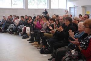 Dimanche 14 février, rencontre avec les invités de la compétition à la MJC : côté public !